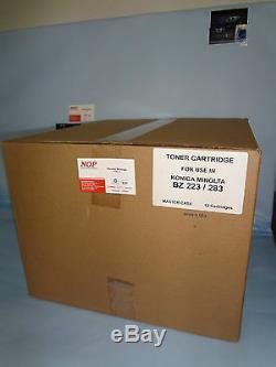 12 TONERS Konica Minolta A202031 A202051 TN-217, TN217 BIZHUB 223 BH 283 Generic