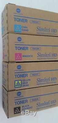 16 Toners 4 CMYK OEM Konica Minolta BizHub C454 C554 Toner TN512C TN512M TN512K