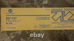 1 Konica Minolta Drum DU-107 Black Bizhub Press C 1100 New B Stock
