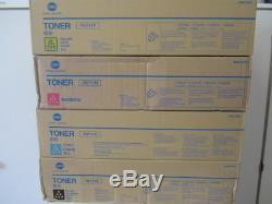 1x Satz Original Toner Konica Minolta TN-711 CMYK bizhub C654 C754 NEU & OVP