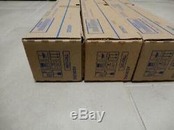 3 Genuine Konica Minolta bizhub C454E C554E Toner Color SET TN512C TN512Y TN512M