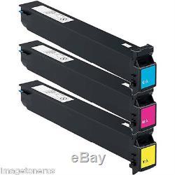 3-Pack Toner Set for Konica Minolta BizHub C452 C552 C652 552 652 TN613 TN613M