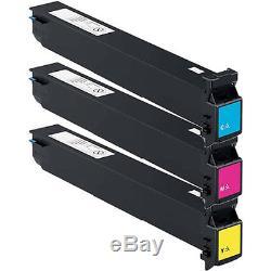 3x Toner Set for Konica Minolta Bizhub C452 C552 C652 TN613 TN413 A0TM450