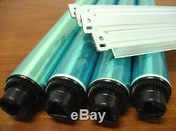 4 OPC Drum Parts for Konica Minolta Bizhub C353 + 4 Chip, 4 Blade (C353 ONLY)