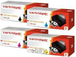 4 Toner Cartridges Set for Konica Minolta TN213 Bizhub C203 C253