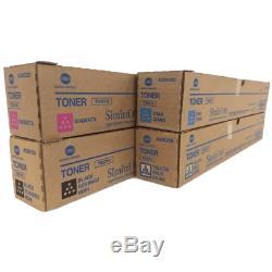 4 Toner Minolta TN-321 CYMK Bizhub C284 C224 C364 NEU A-Ware Netto 196 Rg Mwst