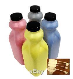 4 Toner Refill for Konica Minolta Bizhub C224, C284, C364, C454, C554 E TN321