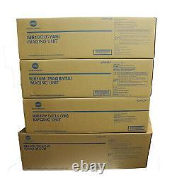 4 x Bildtrommel Konica Bizhub C451 C550 C650 / IU610K IU610C IU610M IU610Y DRUM