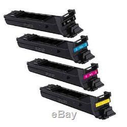4x Toner Cartridge Set for Konica Minolta Bizhub C20 C20P C20X C20PX TN-318