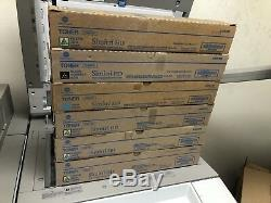 7 Toners OEM Konica M BizHub C454 C554 Toner 5 TN512Y 1 TN512C 1 TN512K
