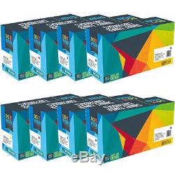 8-Pack Compatible Toner Set for Konica Minolta Bizhub C454 C554 C454e TN512