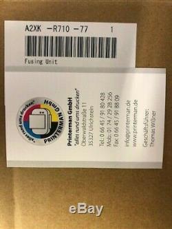 A2XKR71077 Konica Minolta bizhub Fusing Unit Heizung C554 C554e 554 NEU