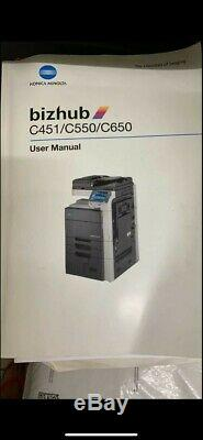 Bizhub C451 Colour Printer/Copier with toners