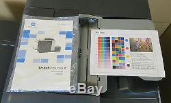 Bizhub C654 Konica Minolta Colour Photocopier Copier 65ppm Fax FS-534 Finisher