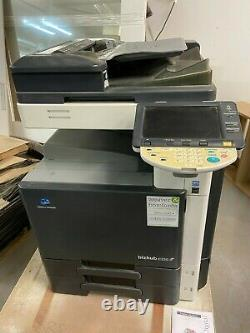 C220 Bizhub Konica Minolta A3 Multifunction Photocopier Scanner Printer Used