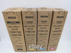 Compatible CYMK TONER SET FOR KONICA MINOLTA BIZHUB PRO C5500 C5501