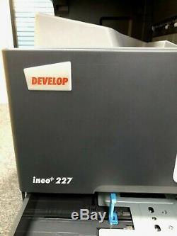 Develop +227 (konica Bizhub C227) Multifunction Colour Copier/printer/scanner