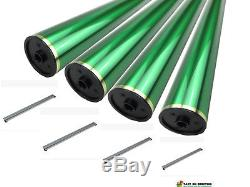 Drum parts for Bizhub C220, C280, C360, C7722, C7728 (4 OPC, 4 Blade, 4 Chips)
