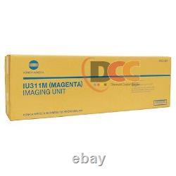 Genuine Full Set Of Iu311 Cmyk Imaging Unit For Bizhub C300 C352