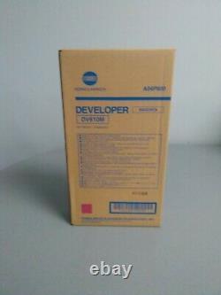 Genuine Konica Minolta A04P800 (DV610M) Magenta Developer bizhub Pro C5500, C5501