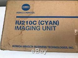 Genuine Konica Minolta BIZHUB C250 / C252 Cyan IU210C