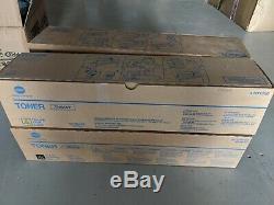Genuine Konica Minolta BIZHUB C8000 Toner TN615K TN615Y TN615C TN615M