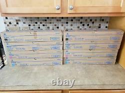 Genuine Konica Minolta Tn512 A33k132-a33k432 Toner Set Bizhub C454 C554 / Nt-12