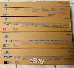 Genuine New Konica Minolta Toners for Bizhub C1100 C1085 TN622 CYMK