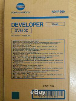 Genuine Original Konica Minolta DV-610C A04P900 Cyan for bizhub PRO C6500