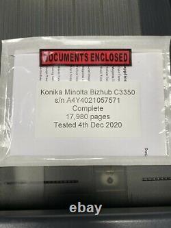 Genuine Refurbished Konika Minolta Bizhubc3350 £300 + Vat
