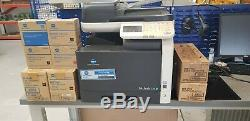 KONICA MINOLTA BIZHUB C25 PRINTER/SCANNER/FAX/PHOTOCOPIER (USED) with extra inks