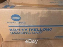 KONICA MINOLTA IMAGING UNIT IU211Y (YELLOW) A0DE-06F Bizhub C203 C253 BNIB