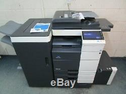 Konica Bizhub 754e Black & White Photocopier/Copier & Booklet Saddle Finisher