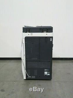 Konica Bizhub 754e copier printer scanner Only 266K copies 75 ppm