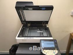 Konica Bizhub C220 Colour Copier/Printer/Scanner Including extra toner/drum