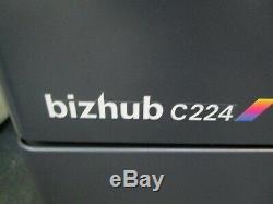 Konica Bizhub C224 Colour Photocopier/Copier & Staple Finisher