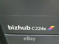 Konica Bizhub C224e Colour Photocopier/Copier & Staple Finisher