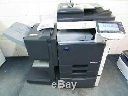 Konica Bizhub C253 Colour Photocopier & Booklet Finisher