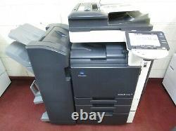 Konica Bizhub C360 Colour Photocopier & Booklet Finisher