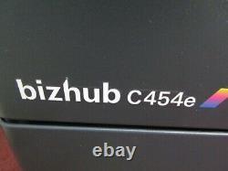 Konica Bizhub C454e Colour Photocopier/Copier & Staple Finisher