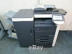 Konica Bizhub C552 Colour Photocopier/Copier & Booklet Saddle Finsher