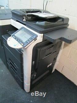 Konica Bizhub C652 Colour Photocopier/Copier, Fax Unit & Booklet Saddle Finsher