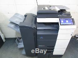 Konica Bizhub C754 Colour Photocopier/Copier & Booklet Finisher