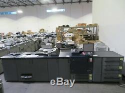 Konica Bizhub Press C1070 color copier printer scanner Only 1.1 mil meter