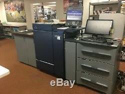 Konica Bizhub Press C1100 color copier printer scanner LOW METER