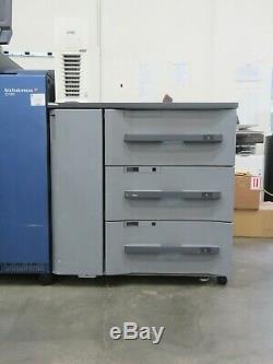 Konica Bizhub Press C1100 color copier printer scanner Only 2 mil meter