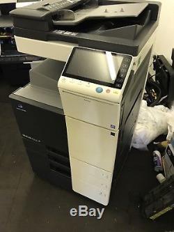 Konica Bizhub c224 Colour Copier Printer Scanner 24ppm Low Copy Count