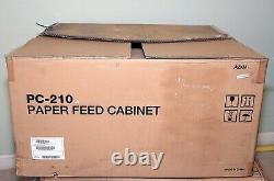Konica Minolta A2XMWY2 A2XMWY8 PC210 Paper Feed Cabinet 500 Sheet X 2 for BIZHUB