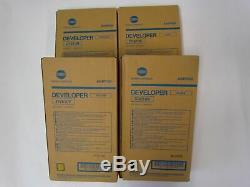 Konica-Minolta BIZHUB PRO C6000L DEVELOPER SET DV610 CYMK (VATExl)
