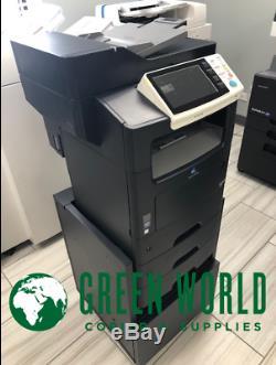 Konica Minolta BizHub 4750 B&W Multi-Function Printer 13k total meter